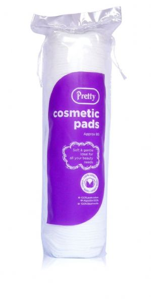 80 cosmetic/cotton wool pads (Code 1116)